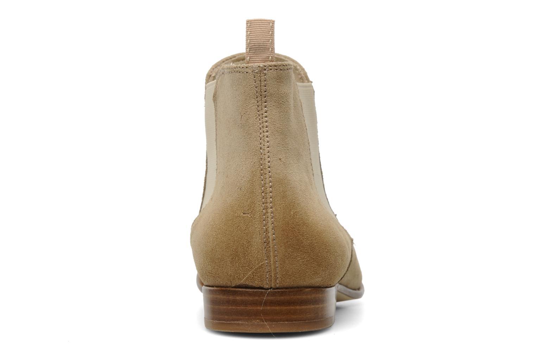 Bottines et boots Georgia Rose Parva Beige vue droite