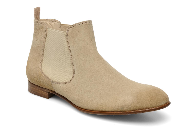 Bottines et boots Georgia Rose Parva Beige vue détail/paire
