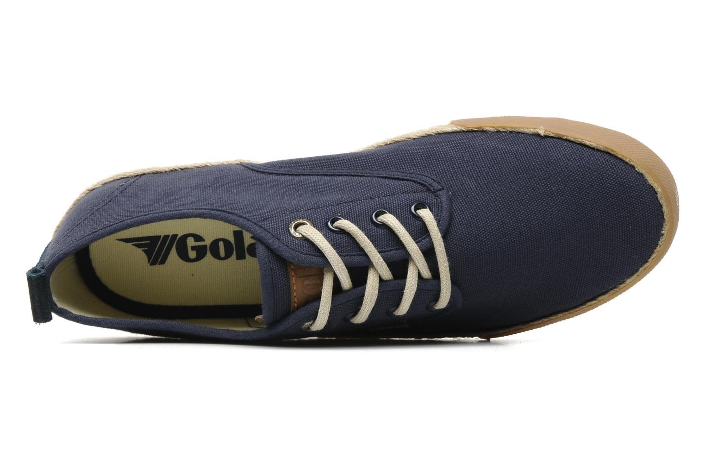 Sneaker Gola Vulture blau ansicht von links