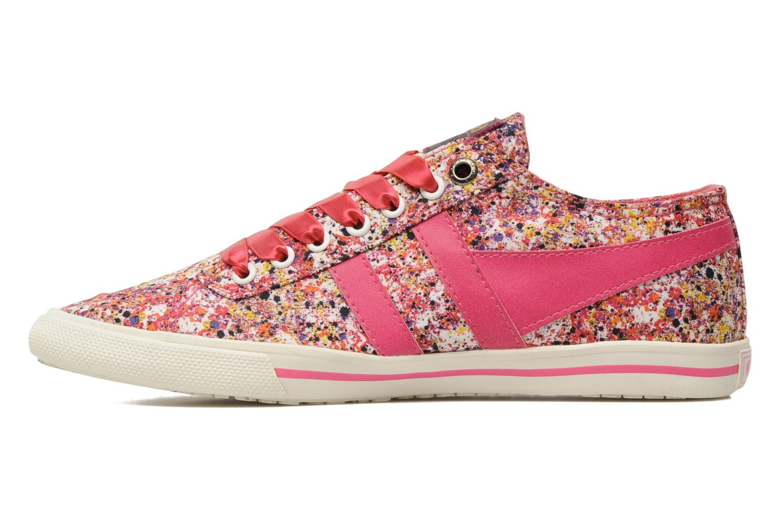 Baskets Gola Liberty Quota Melly Rose vue face