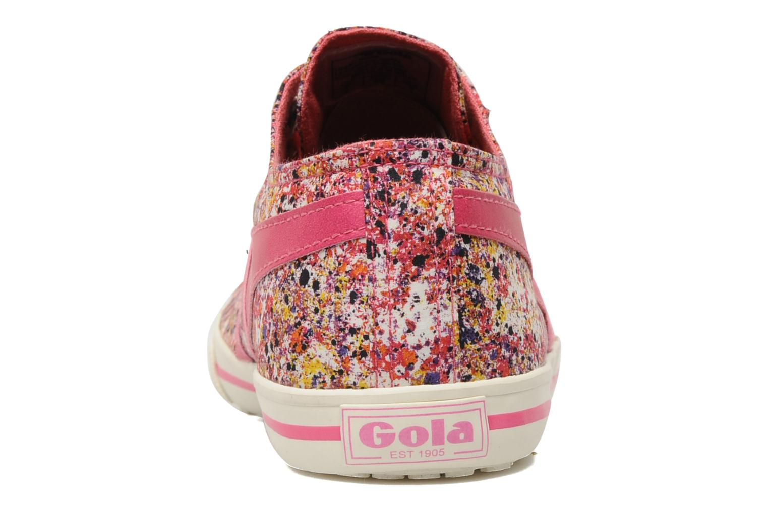 Baskets Gola Liberty Quota Melly Rose vue droite