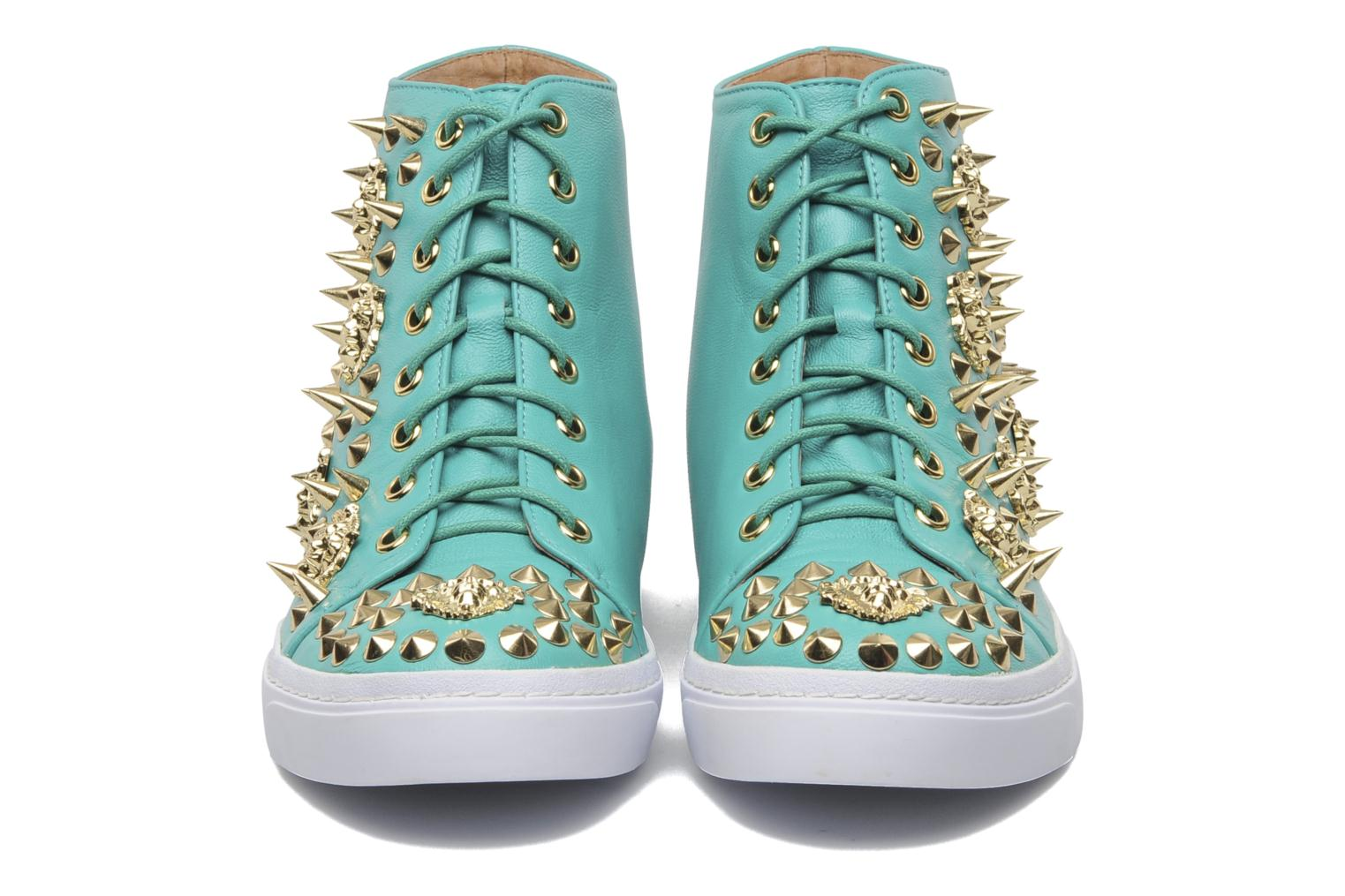 Baskets Jeffrey Campbell Adams Lion Vert vue 3/4