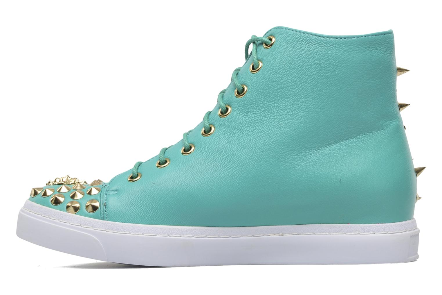 Deportivas Jeffrey Campbell Adams Lion Verde vista de frente