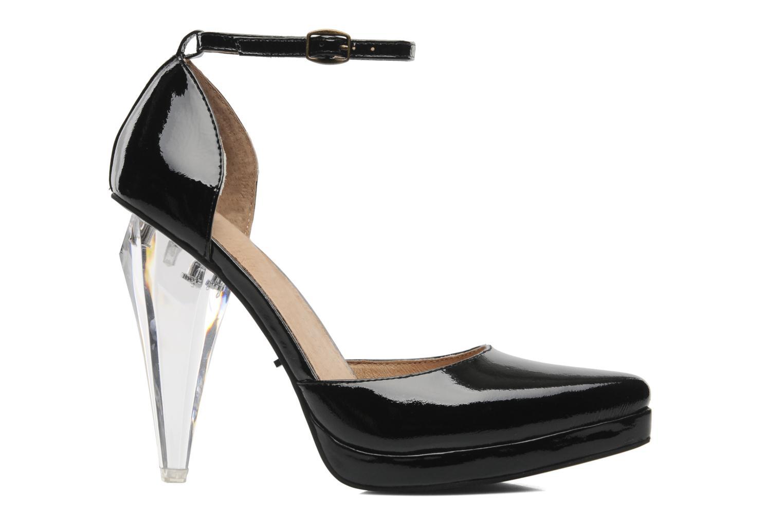 Zapatos de tacón Jeffrey Campbell Sterling Negro vistra trasera