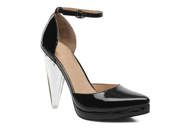 Zapatos de tacón Jeffrey Campbell Sterling Negro vista de detalle / par