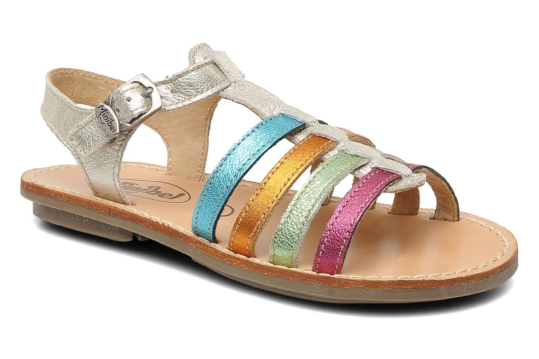 Sandalen Minibel Chana silber detaillierte ansicht/modell