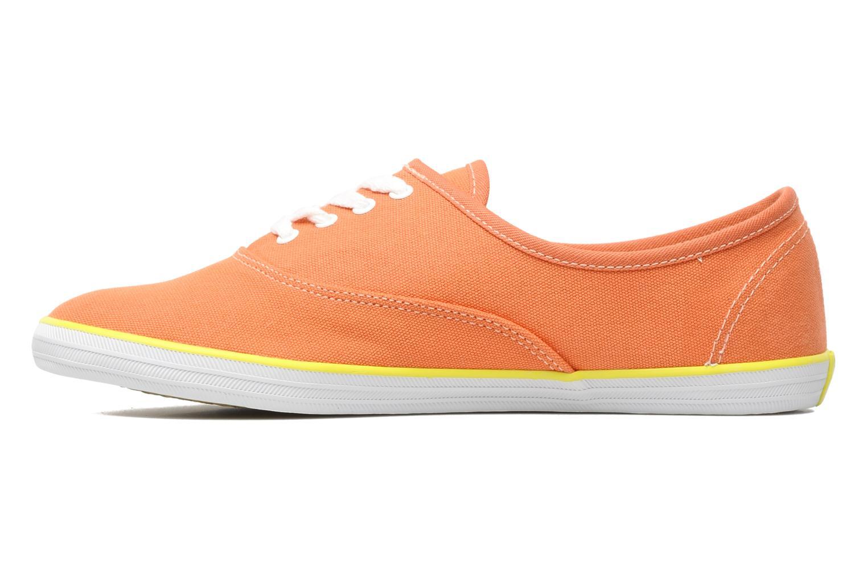 Sneaker Veja Derby W orange ansicht von vorne