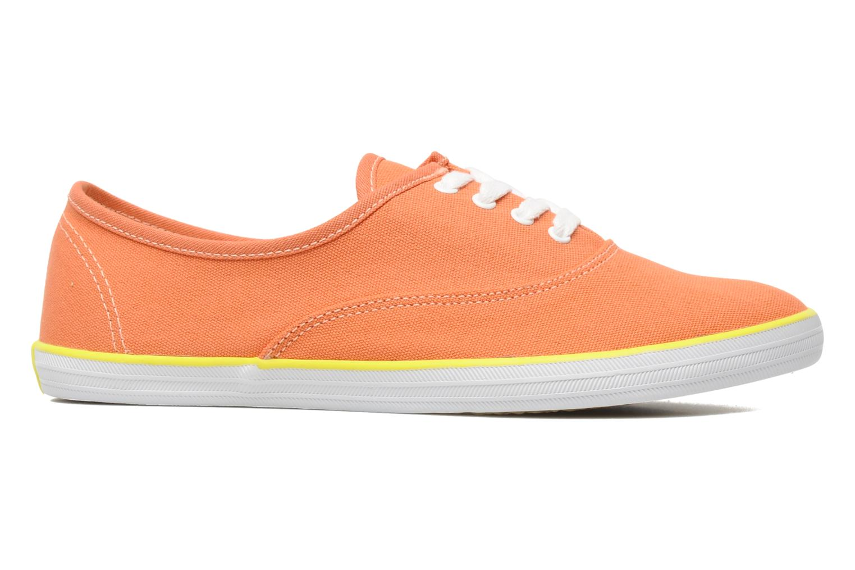 Sneaker Veja Derby W orange ansicht von hinten