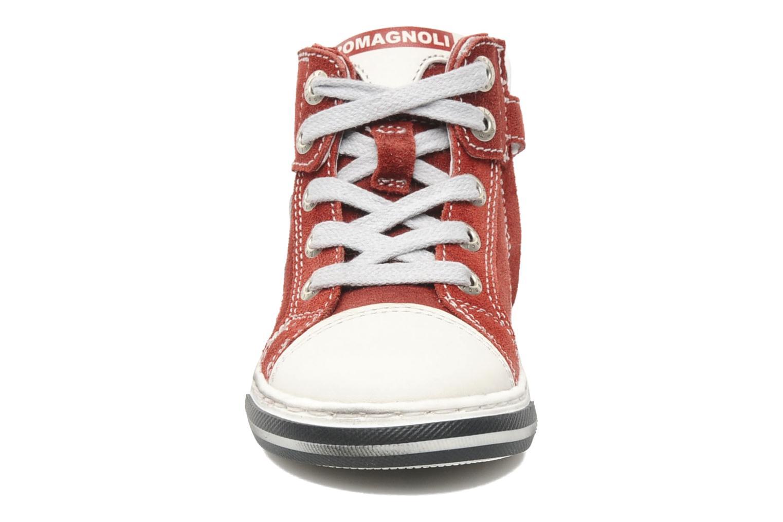 Sneaker Romagnoli Noemie rosa schuhe getragen