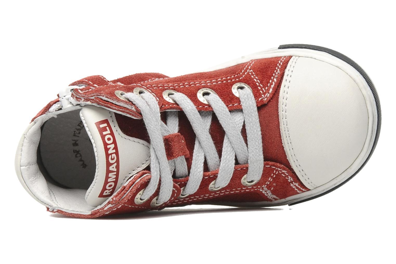 Sneaker Romagnoli Noemie rosa ansicht von links