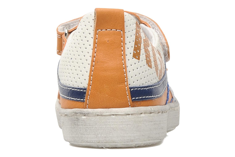 Baskets Romagnoli Nathanael Orange vue droite