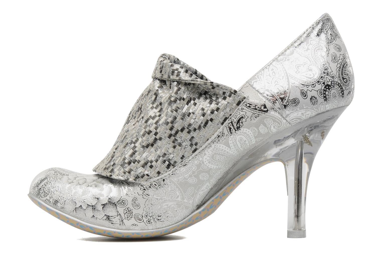 Zapatos de tacón Irregular choice Mrs Blewett Plateado vista de frente