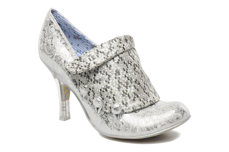Zapatos de tacón Irregular choice Mrs Blewett Plateado vista de detalle / par