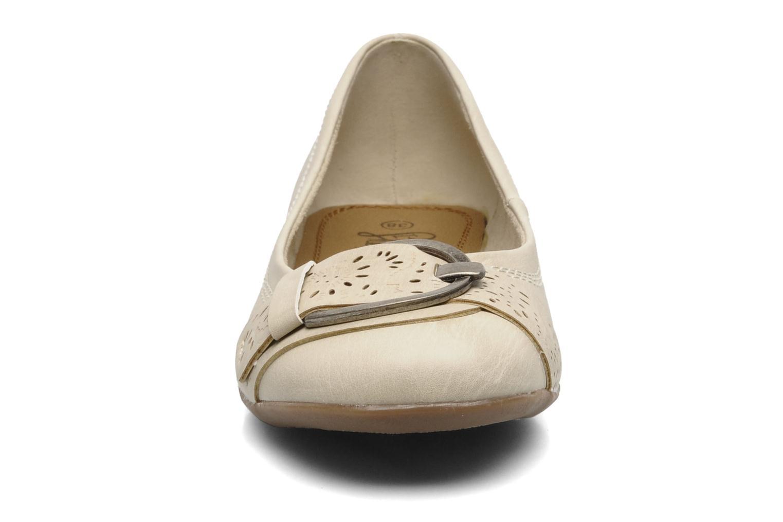 Ballerines I Love Shoes Suzette Beige vue portées chaussures