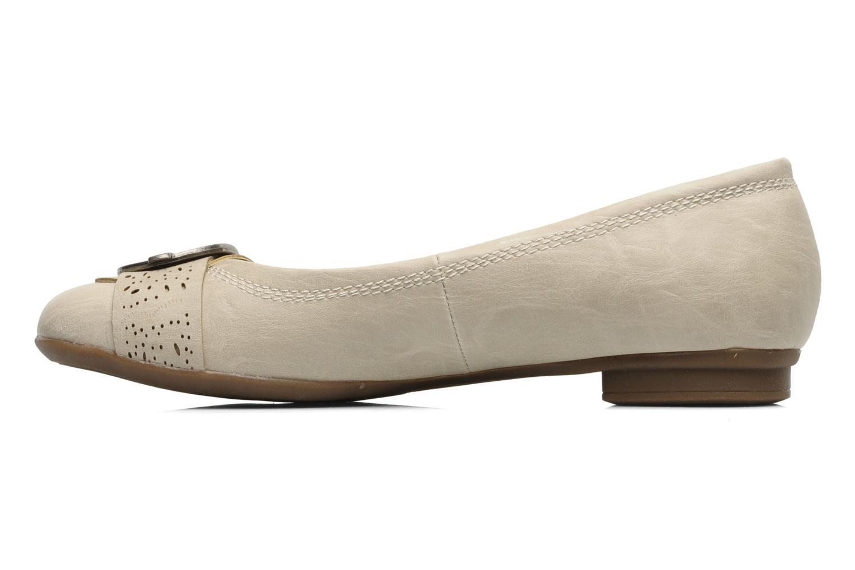 Ballerines I Love Shoes Suzette Beige vue face