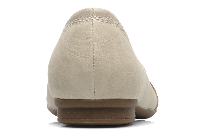 Ballerines I Love Shoes Suzette Beige vue droite