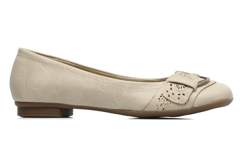 Ballerines I Love Shoes Suzette Beige vue derrière