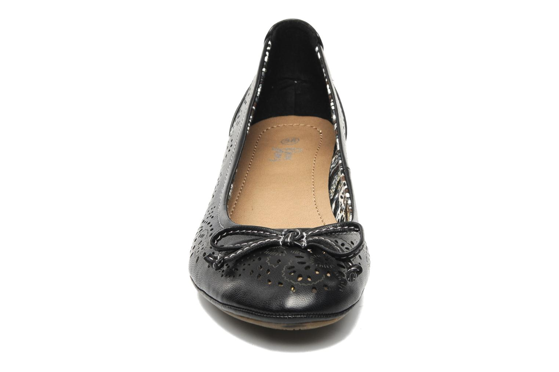 Escarpins I Love Shoes Sultana Noir vue portées chaussures