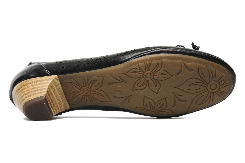 Escarpins I Love Shoes Sultana Noir vue haut
