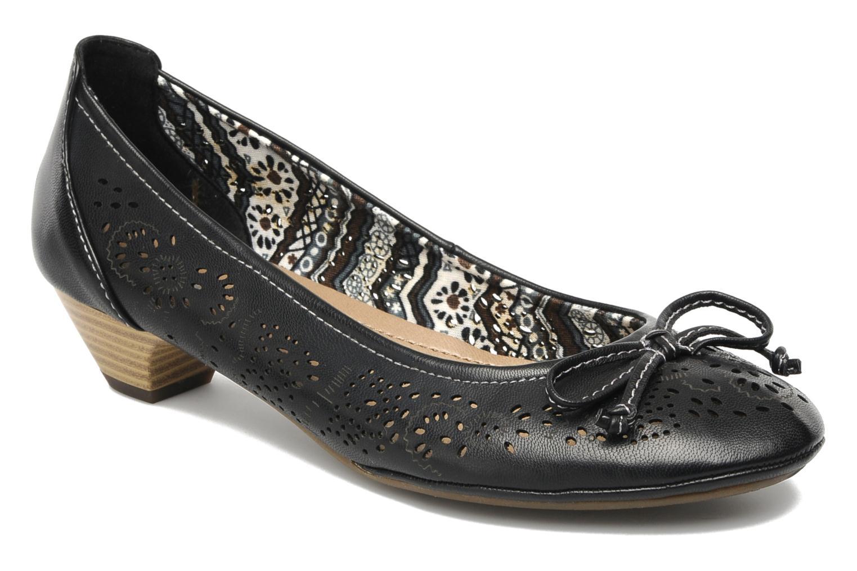 Escarpins I Love Shoes Sultana Noir vue détail/paire