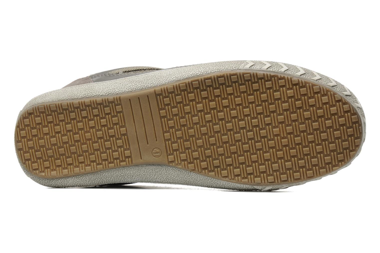 Baskets I Love Shoes Sufflo Gris vue haut