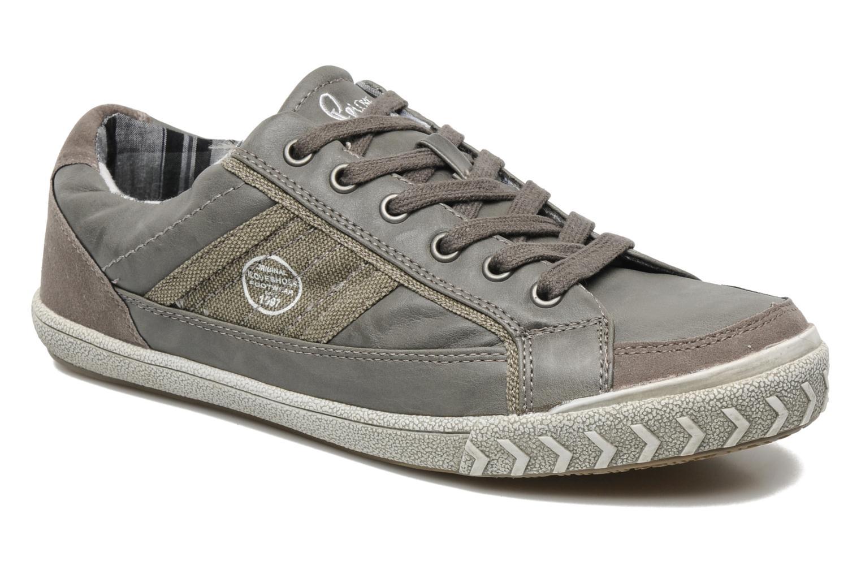 Baskets I Love Shoes Sufflo Gris vue détail/paire