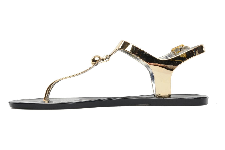 Sandales et nu-pieds Latinas Jama Or et bronze vue face