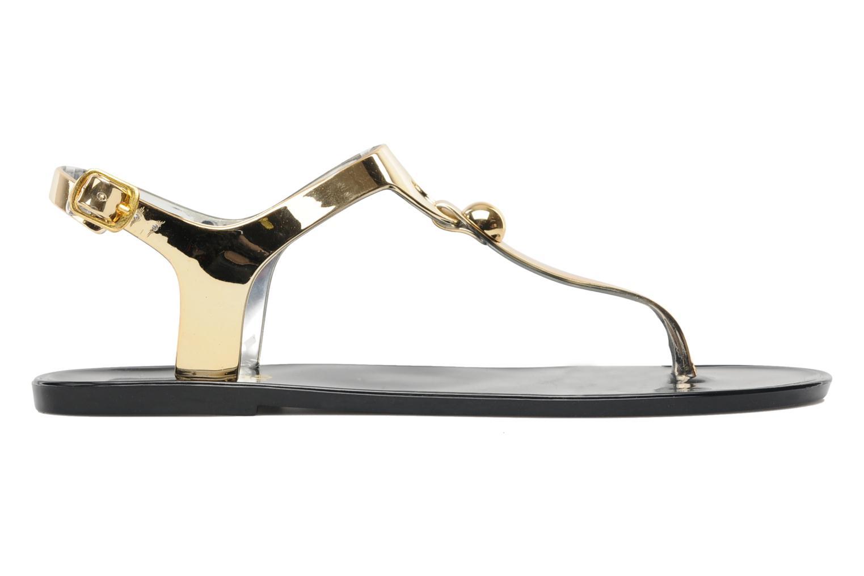 Sandales et nu-pieds Latinas Jama Or et bronze vue derrière