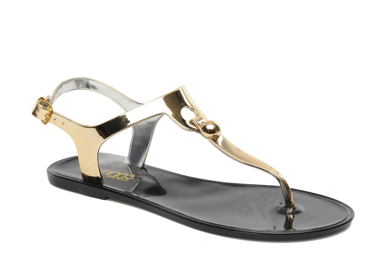 Sandales et nu-pieds Latinas Jama Or et bronze vue détail/paire