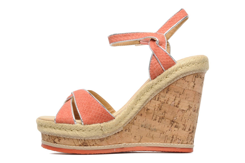 Sandales et nu-pieds Latinas Cloti Orange vue face