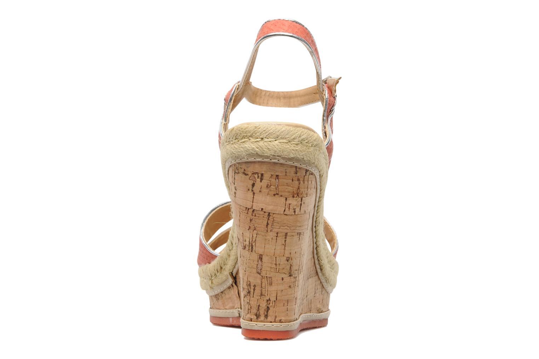 Sandales et nu-pieds Latinas Cloti Orange vue droite