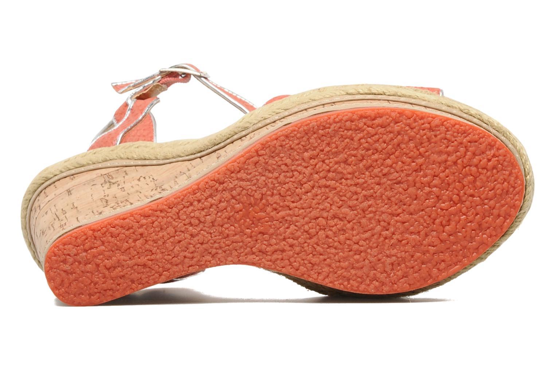 Sandales et nu-pieds Latinas Cloti Orange vue haut