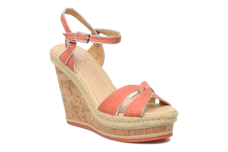 Sandales et nu-pieds Latinas Cloti Orange vue détail/paire