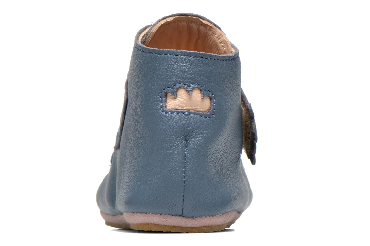 Slippers Easy Peasy Kiny Patin Etoile Blue view from the right