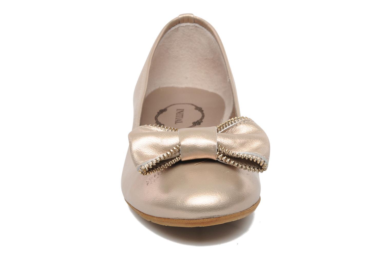 Ballerines Addict-Initial Arani Or et bronze vue portées chaussures