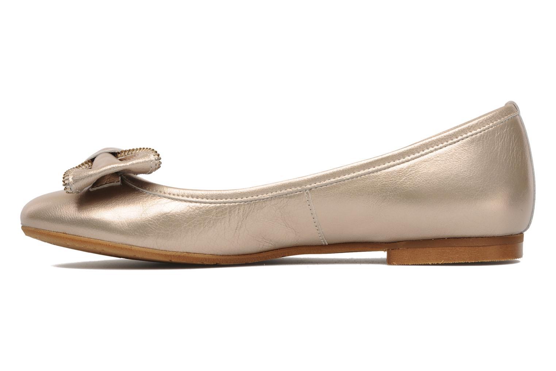 Ballerinas Addict-Initial Arani gold/bronze ansicht von vorne