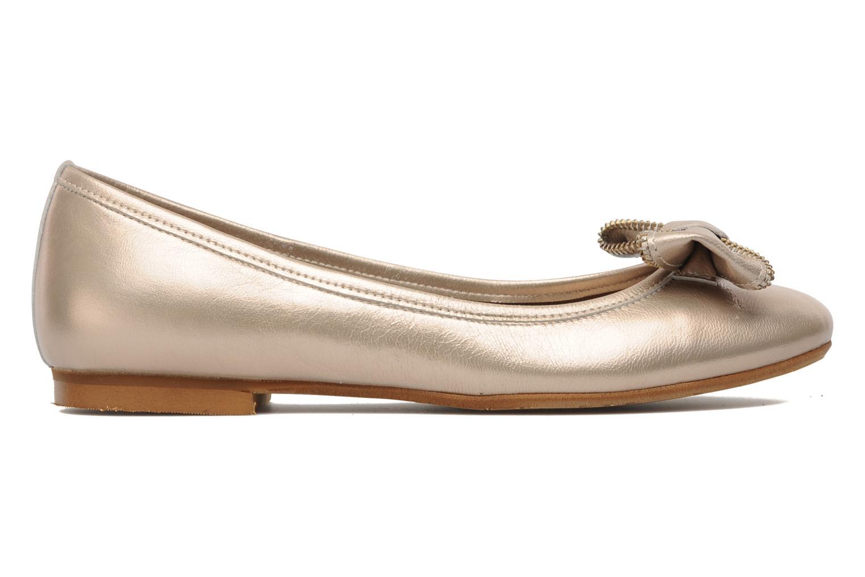 Ballerinas Addict-Initial Arani gold/bronze ansicht von hinten