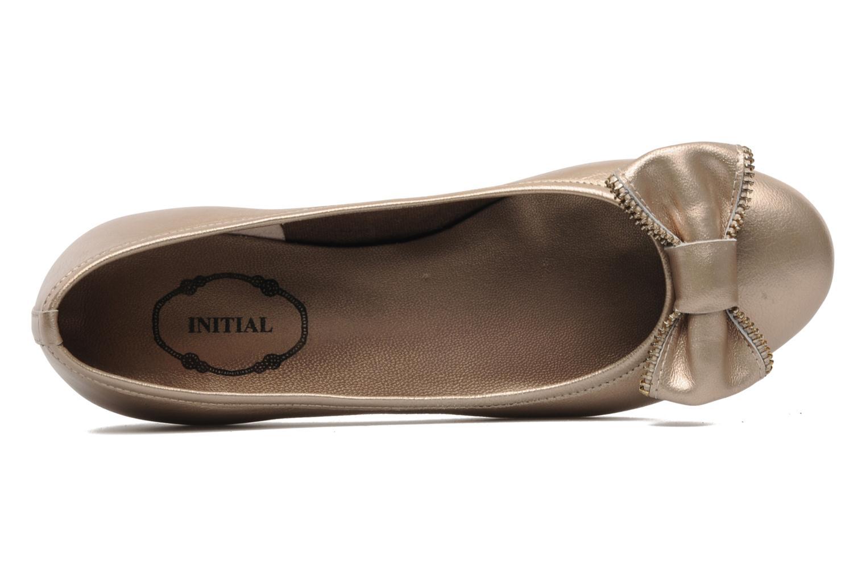 Ballerinas Addict-Initial Arani gold/bronze ansicht von links