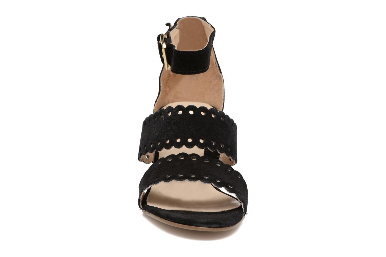 Sandales et nu-pieds Georgia Rose Loupik Noir vue portées chaussures