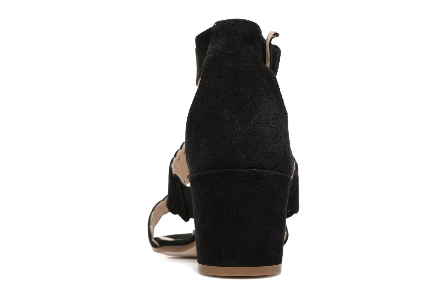 Sandals Georgia Rose Loupik Black view from the right