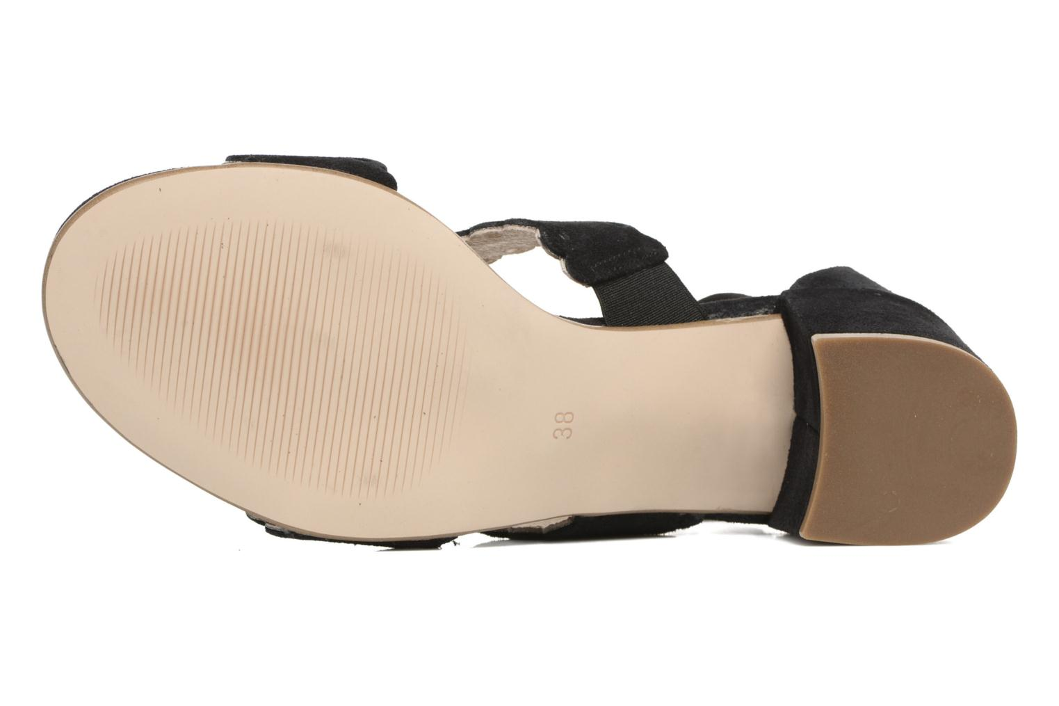 Sandals Georgia Rose Loupik Black view from above