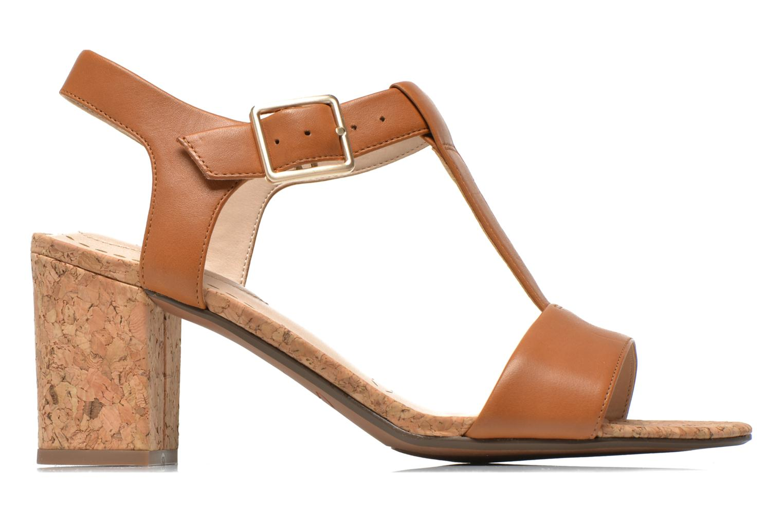 Sandales et nu-pieds Clarks Smart Deva Marron vue derrière