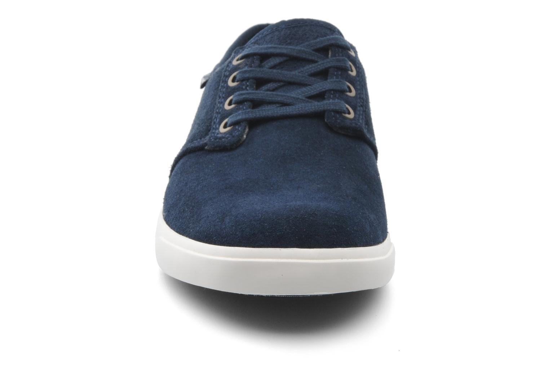Schnürschuhe Clarks Torbay Lace blau schuhe getragen
