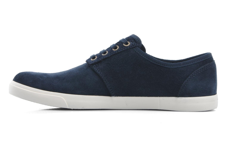 Snörade skor Clarks Torbay Lace Blå bild från framsidan