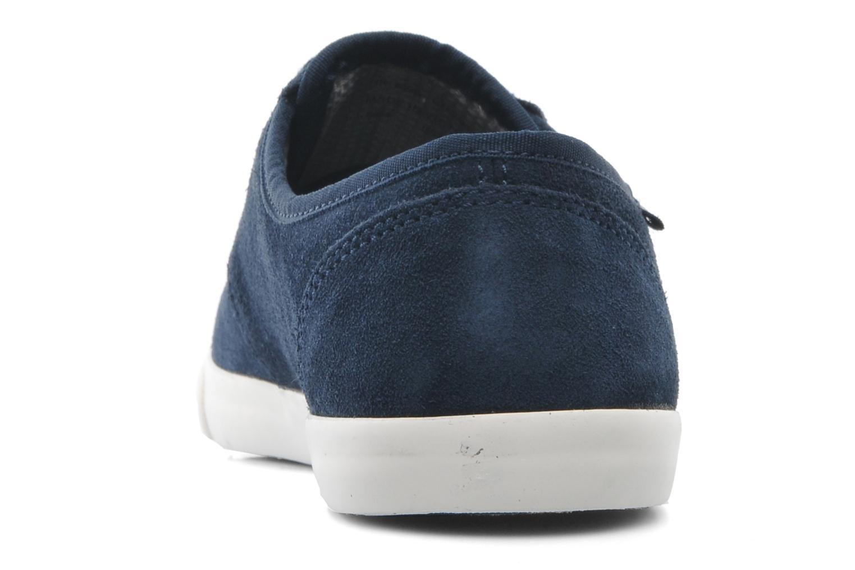 Snörade skor Clarks Torbay Lace Blå bild från baksidan