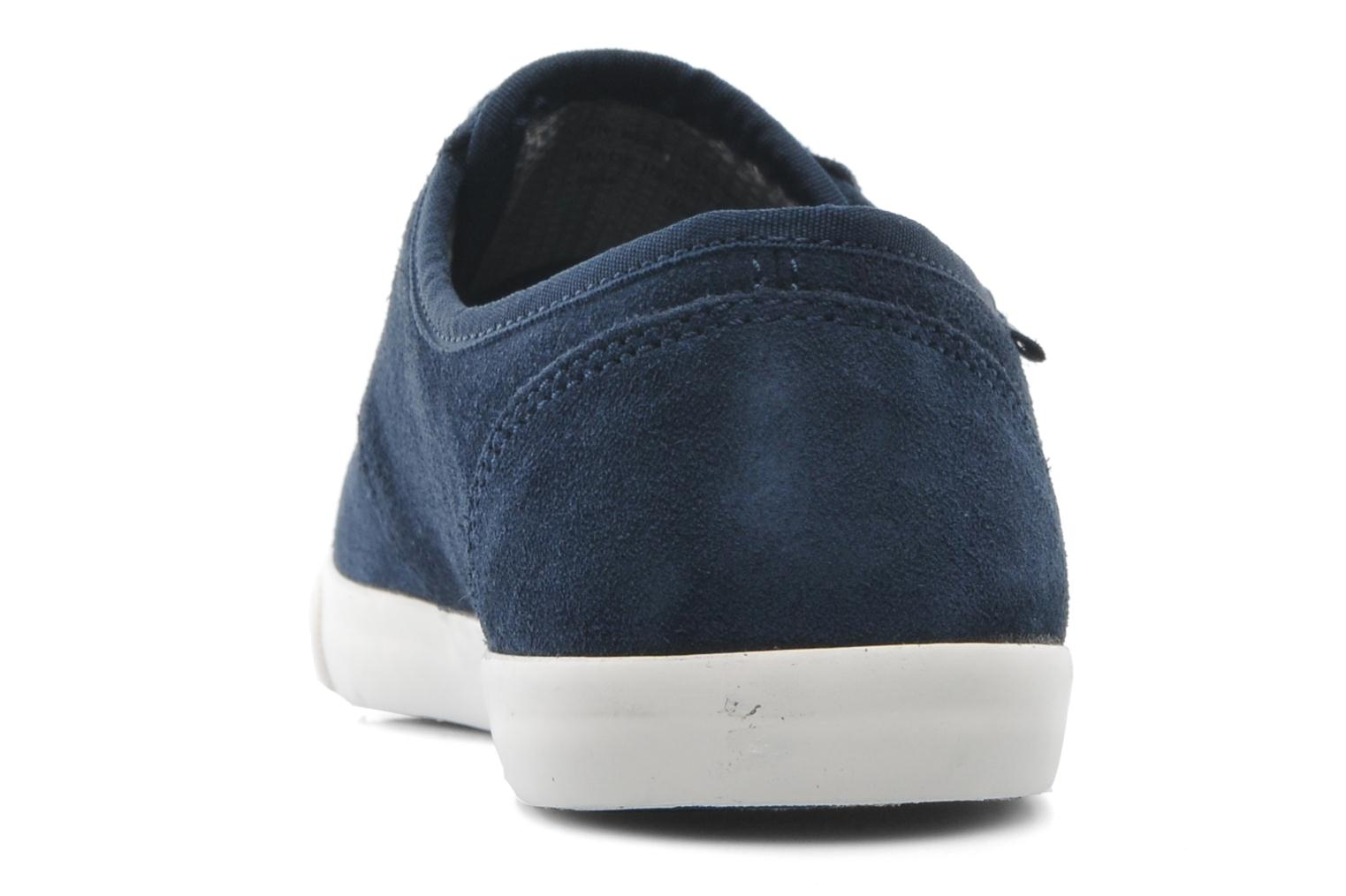 Lace-up shoes Clarks Torbay Lace Blue back view