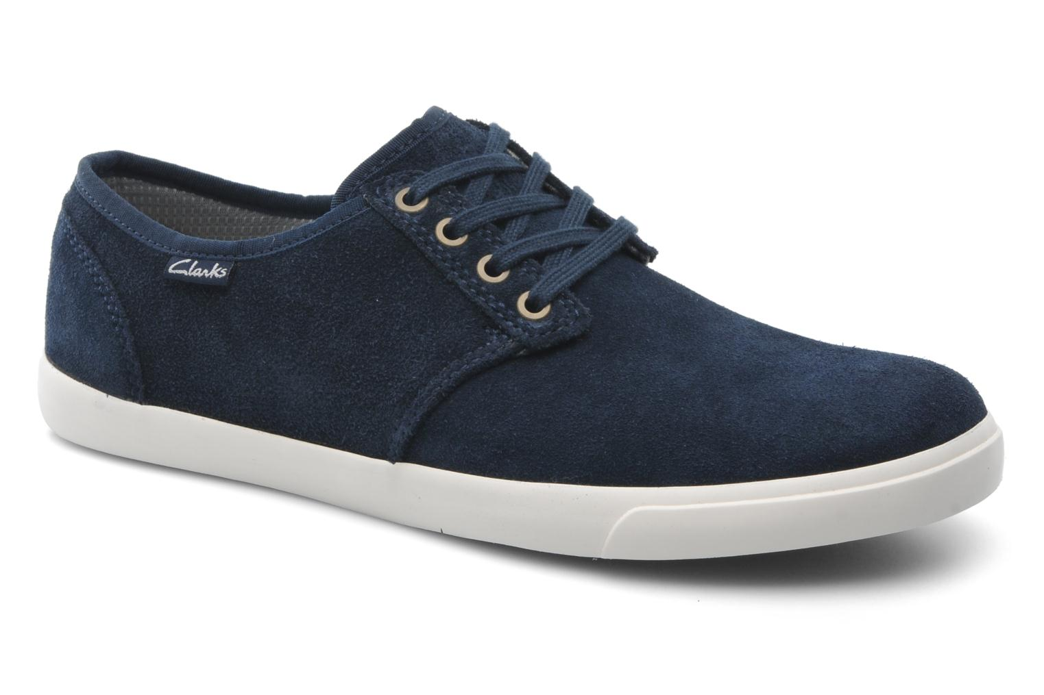 Lace-up shoes Clarks Torbay Lace Blue detailed view/ Pair view