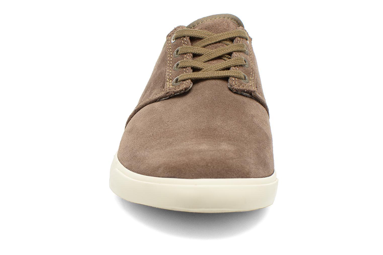 Chaussures à lacets Clarks Torbay Lace Gris vue portées chaussures