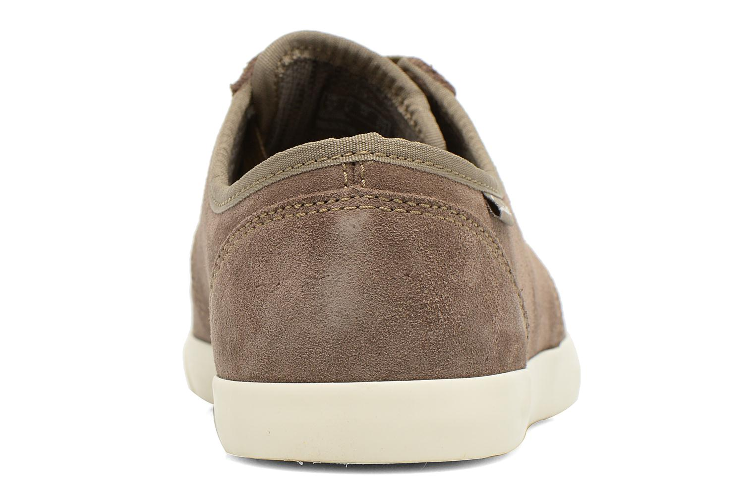 Lace-up shoes Clarks Torbay Lace Grey view from the right