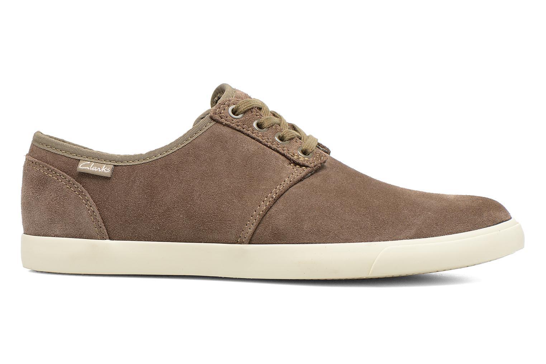 Chaussures à lacets Clarks Torbay Lace Gris vue derrière